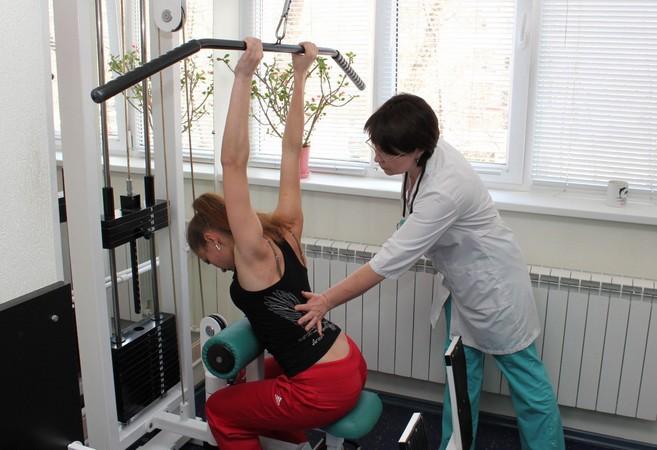 Тренажер для лечения позвоночника бубновского