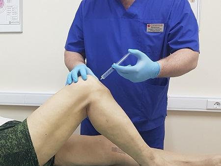 Упражнения при блокаде коленного сустава