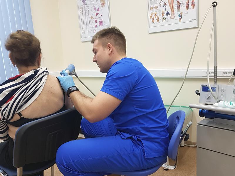 Ударно-волновая терапия плечевого сустава цена ооо госпиталь вит нижний тагил по замене суставов