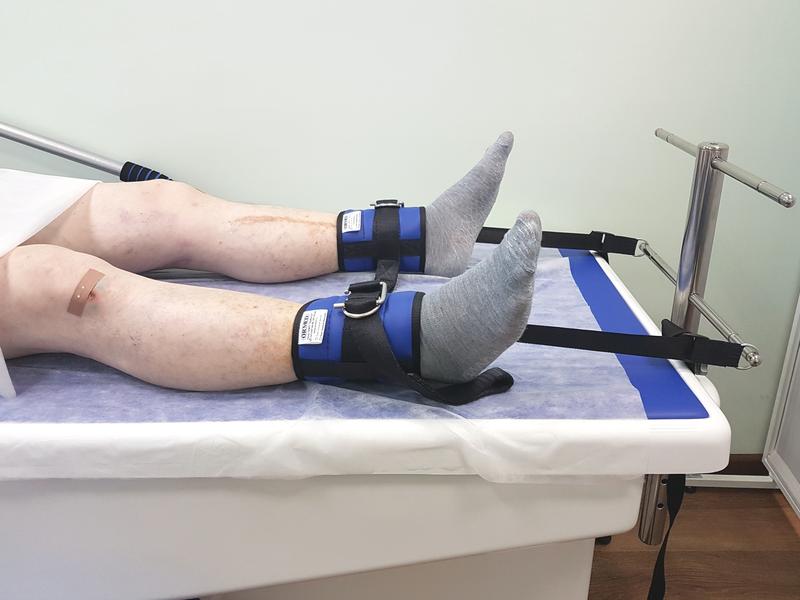 Можно купить станок для вытяжки ноги и сустава тазобедренного бандаж фиксирующий на голеностопный сустав