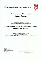 Confirmation of participation Litvinenko